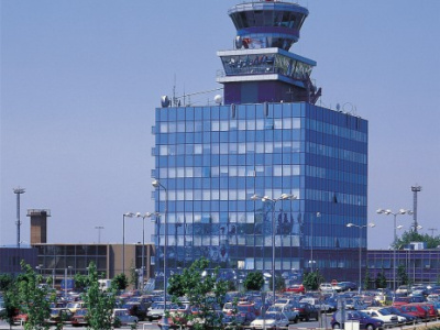 Praha Ruzyně Airport - Air Traffic Control tower