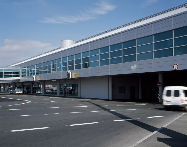Praha Ruzyně airport, T2 connecting building